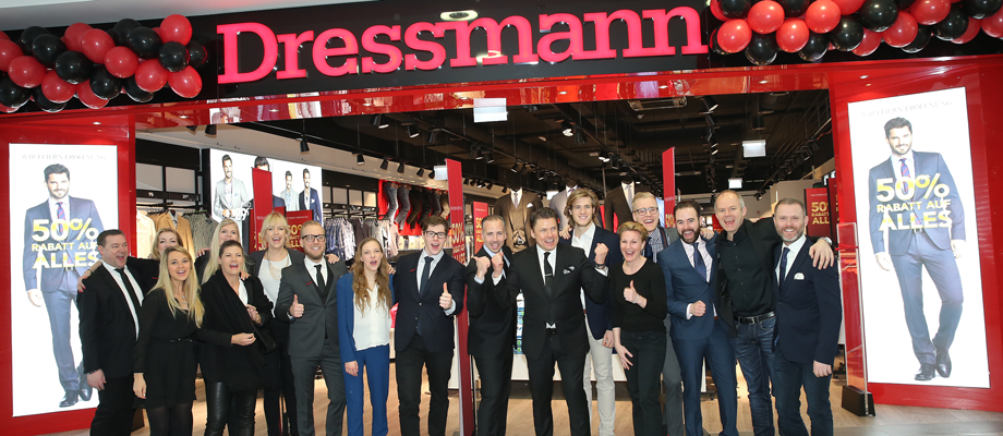 Dressmann has successfully opened the first stores in Austria. Read the full Expansion Story here.